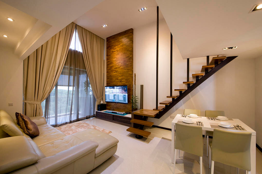 wood Feature wall edge interior