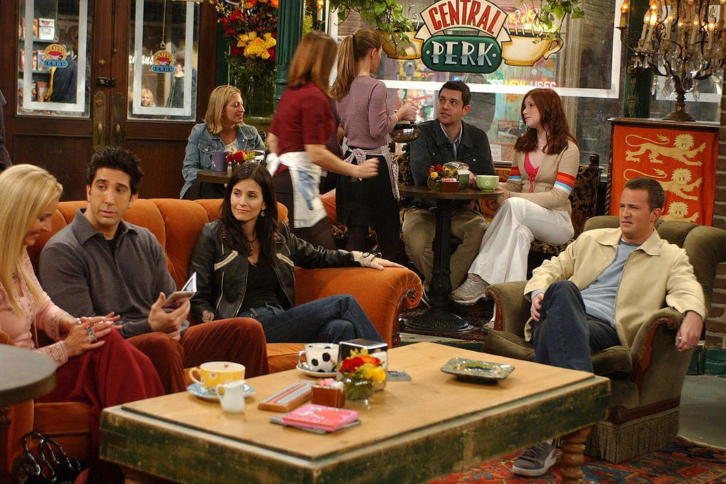 F R I E N D S Central Perk Themed Cafe Is Opening In