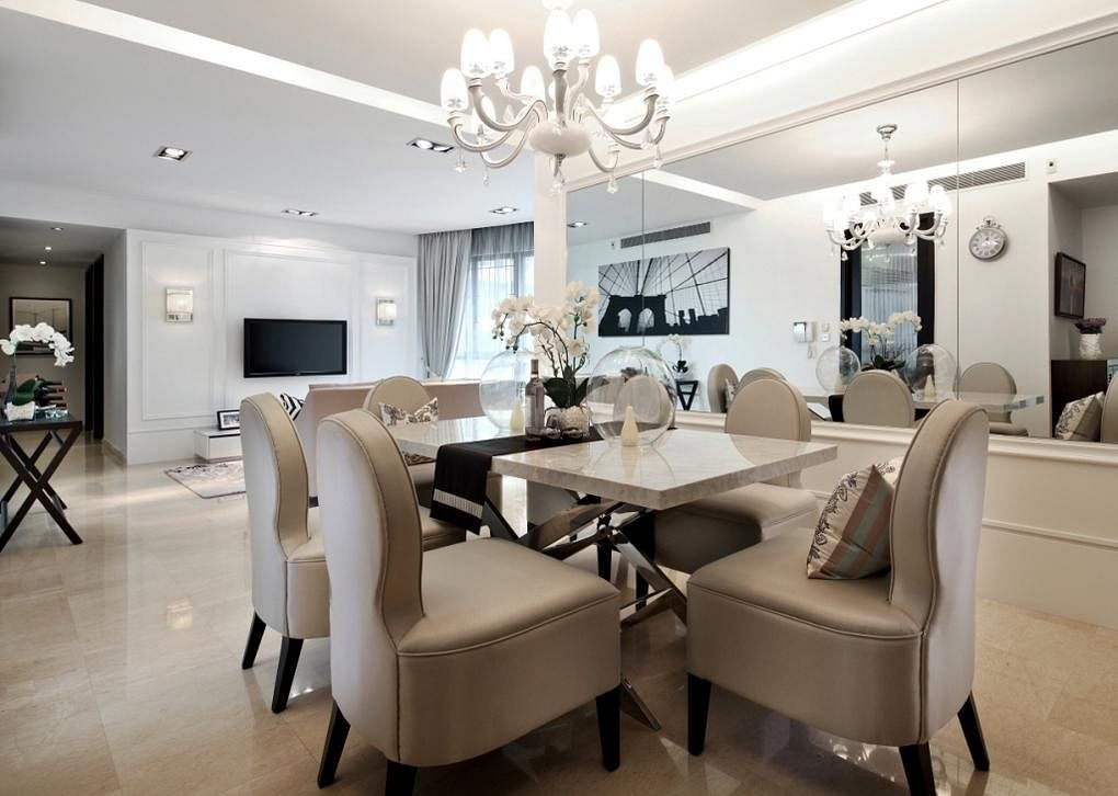 8 Stylish Modern Classic Dining Rooms To Inspire You 6