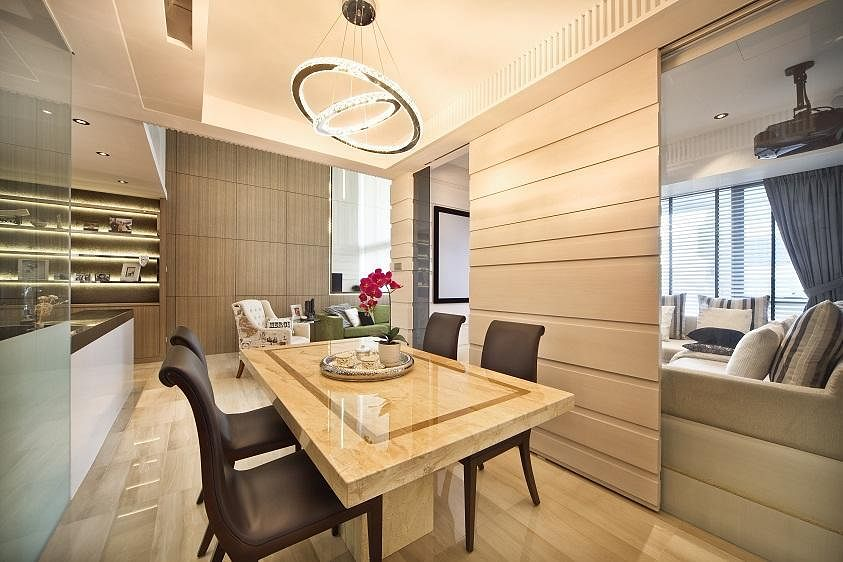 8 Stylish Modern Classic Dining Rooms To Inspire You 2