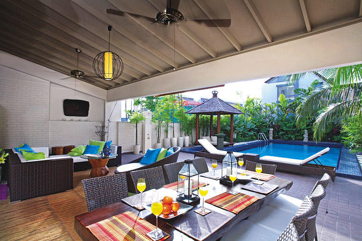 House Tour Balinese Inspired Three Storey Semi Detached