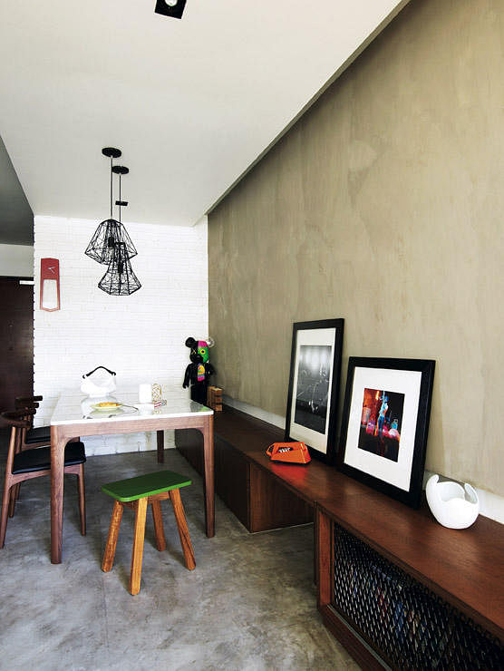 Hdb Study Room Design Ideas: House Tour: $100,000 Industrial-chic Look In This Four