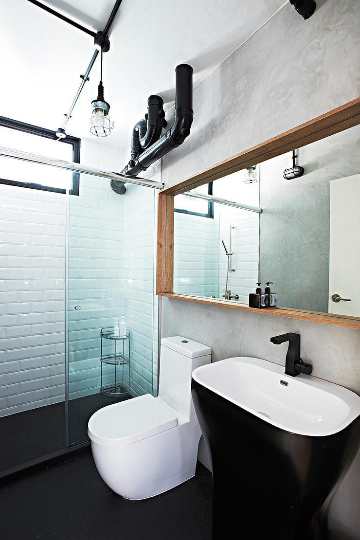 7 hdb bathrooms that are both practical and luxurious for Small bathroom ideas hdb