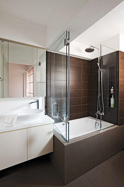 Hdb Bathroom Design Ideas ~ Hdb bathrooms that are both practical and luxurious