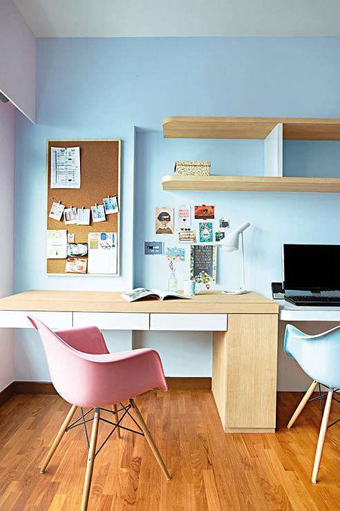 Ideas For Designing A Study Room: 7 Amazing HDB Flats In Sengkang And Punggol