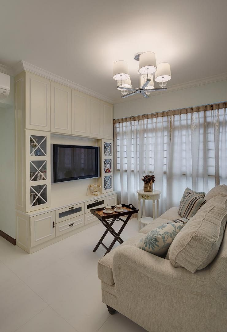 7 amazing hdb flats in sengkang and punggol home decor for Interior design for 5 room hdb flat