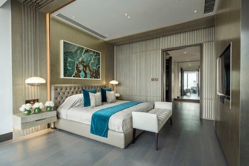 Stunning modern classic interiors of the One Shenzhen Bay showflats 4