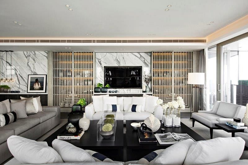 Stunning Modern Classic Interiors Of The One Shenzhen Bay Showflats 1