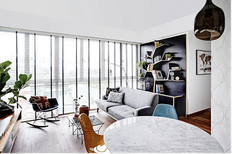 How To Do Industrial Retro And Contemporary All At Once