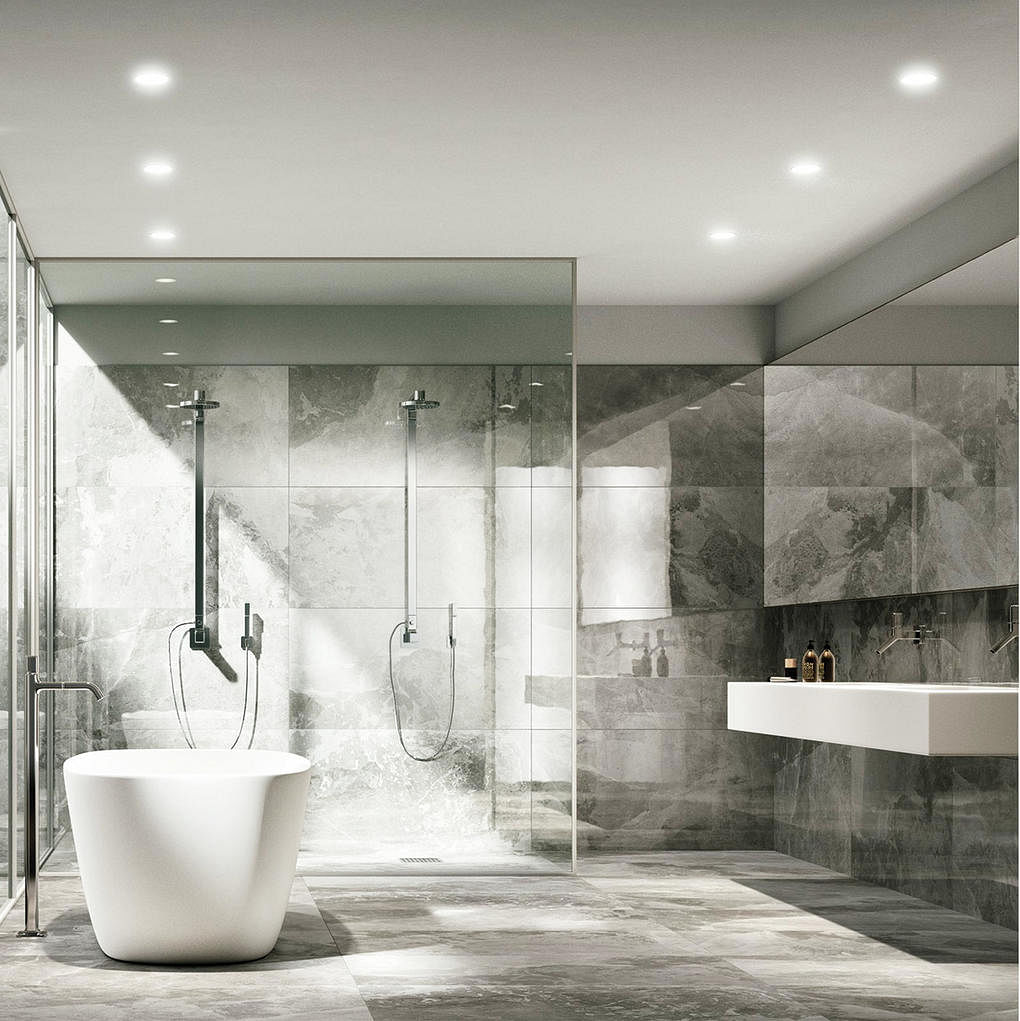 Bathroom design ideas: 7 material finishes for walls and floors ...