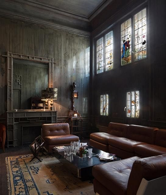 Steal Bedroom Design Ideas Amazingly Stylish Parisian Les Bains Lounge