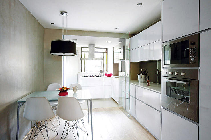 kitchen design singapore hdb flat. Light wood 1 Check out this 3 room flat s stunning white and light palette