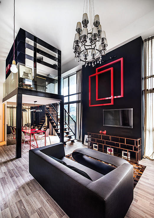 3 stylish lofts in singapore we 39 d like to live in home for Apartment design singapore