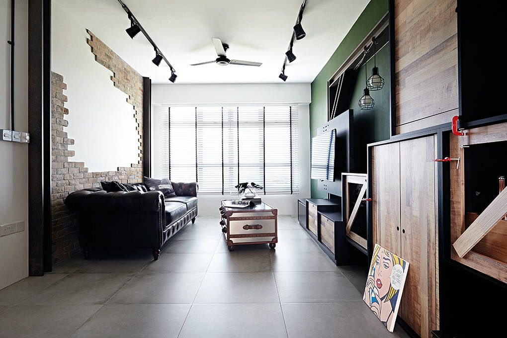 8 Loft Style Spaces In Hdb Flat Homes Home Amp Decor Singapore