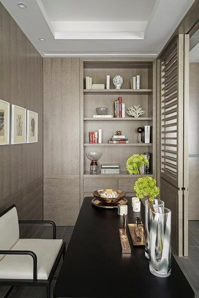 Stunning modern classic interiors of the One Shenzhen Bay showflats 6