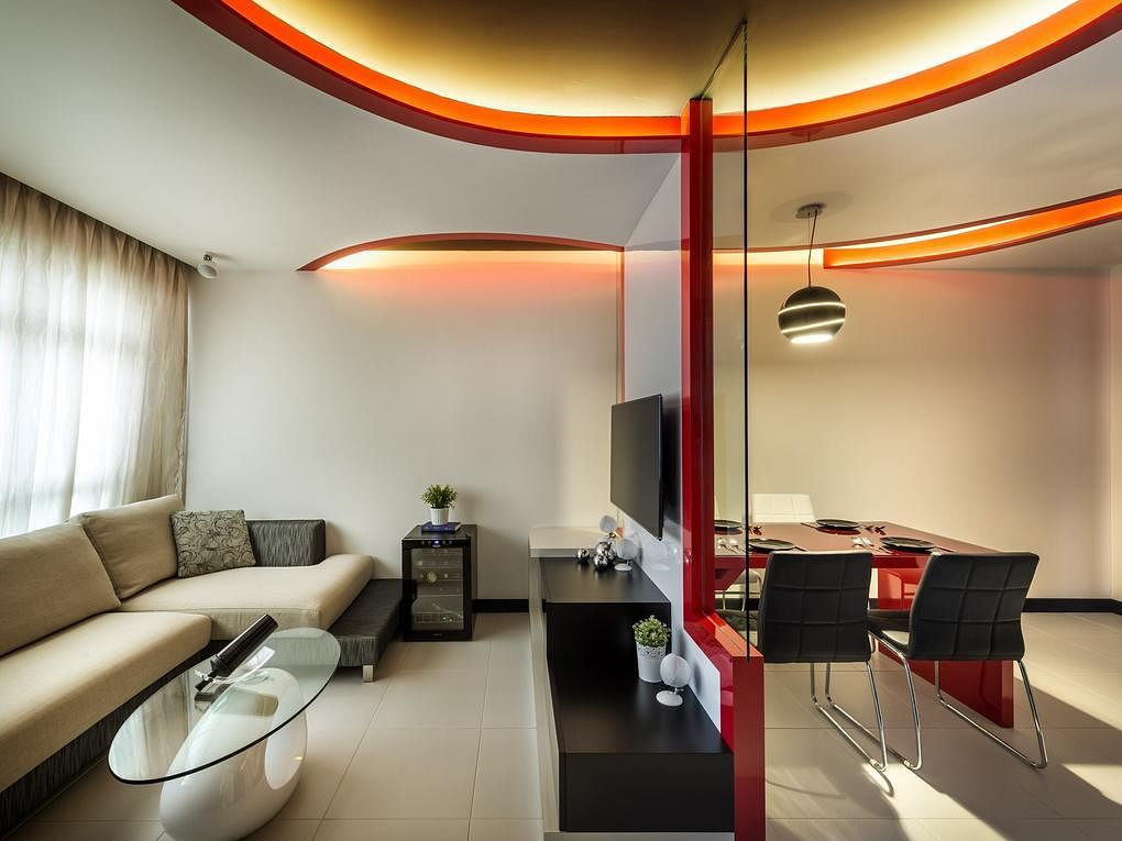 9 Edgy Open Concept Designs In Trendy HDB Flat Homes 5
