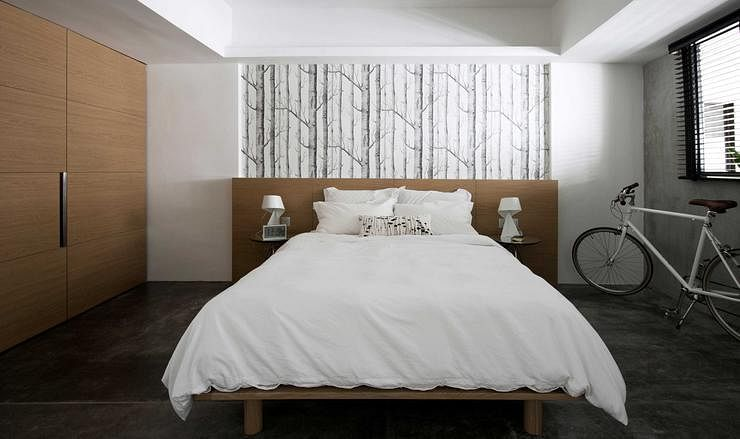 12 stylish minimalist bedrooms home decor singapore - Bedroom with mattress on the floor ...