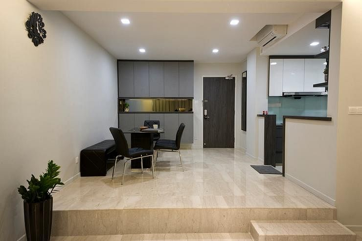 House Tour A Clean Minimalist Three Bedroom Condo Home