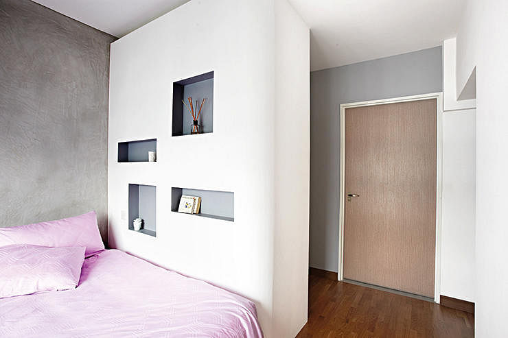 Minimalist wall niches