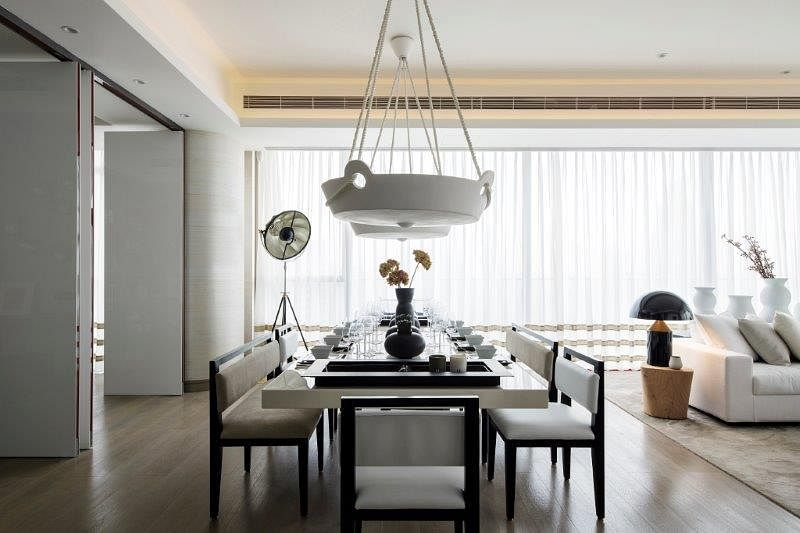 Stunning modern classic interiors of the One Shenzhen Bay showflats 9