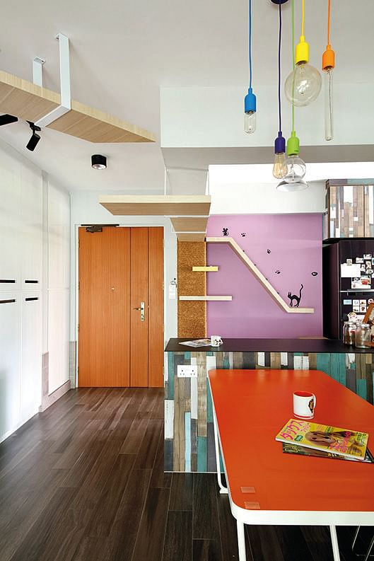 Virtual Kitchen Design Hdb Singapore: Would You Spend $90,000 On Renovation For This Colourful