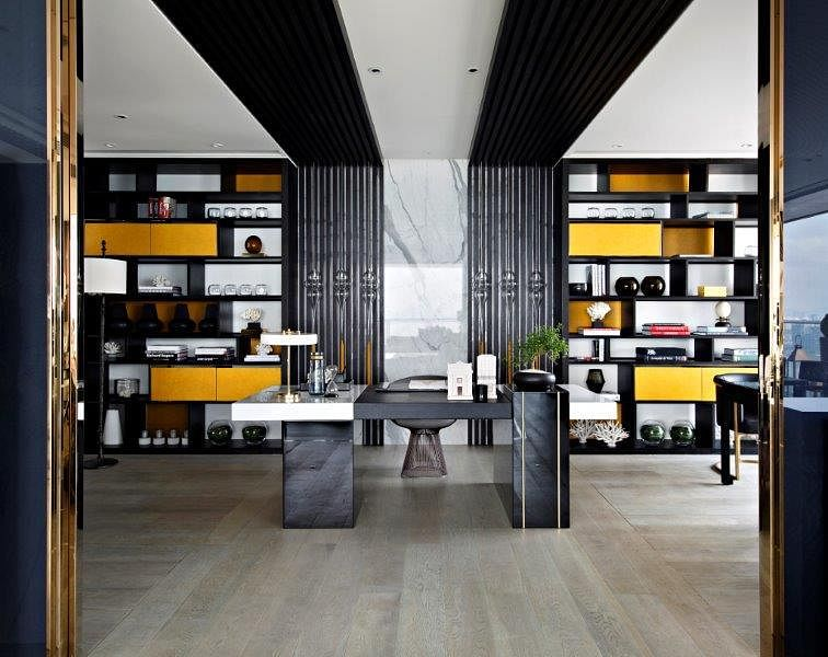 Stunning modern classic interiors of the One Shenzhen Bay showflats 13
