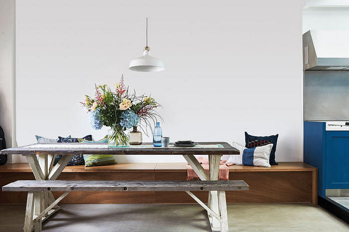 Dining Room Design Ideas 8 Ways For Using A Bench With Your Table 1