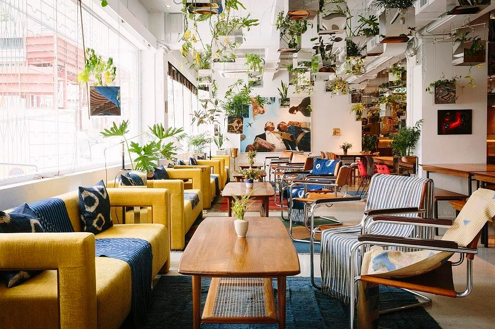 Potato Head Hong Kong A Trendy Stylish Cafe Shop Bar Restaurant And Music Room Home