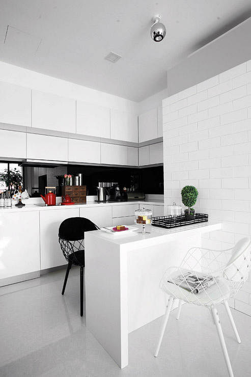 Kitchen Backsplash Singapore 9 practical and elegant kitchens | home & decor singapore