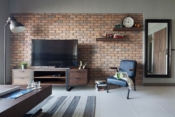 Living Room Design Ideas: 7 Brick Walls In Stylish Spaces 6 Part 38