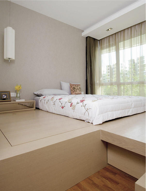 Arc Platform Bed