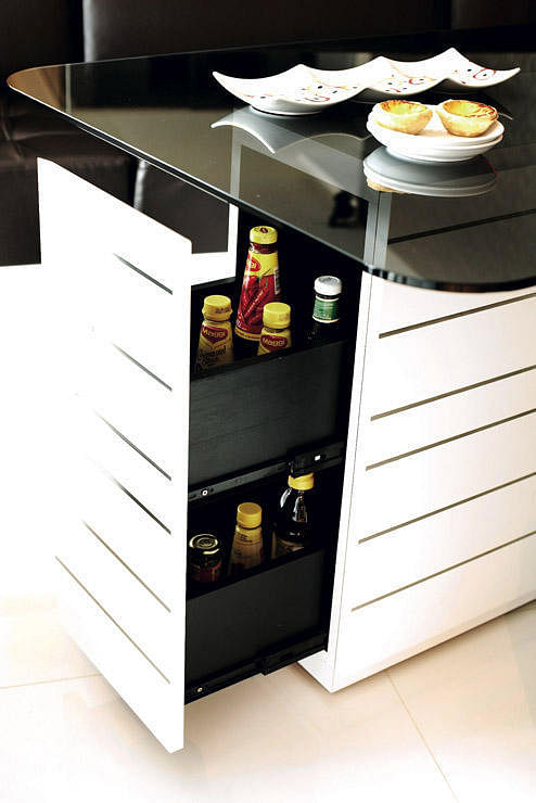 Secret kitchen storage