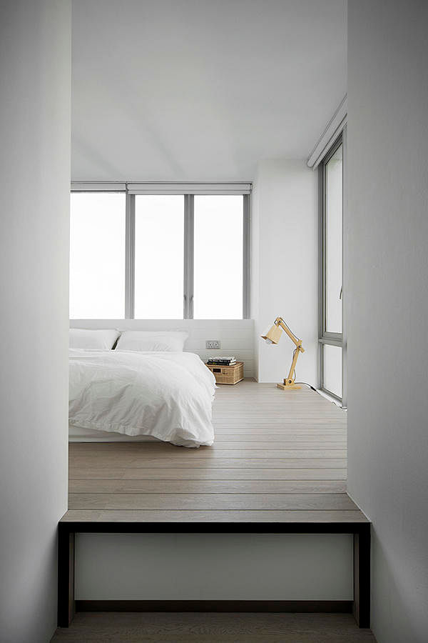 Bedroom Interior Without Bed