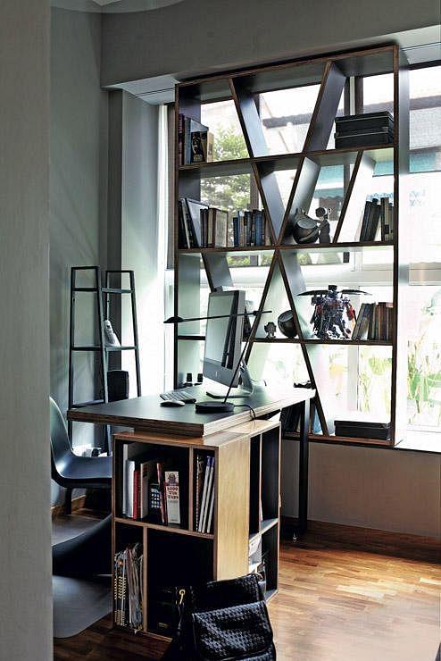 Open Study Room: 10 Ways To Work A Bay Window