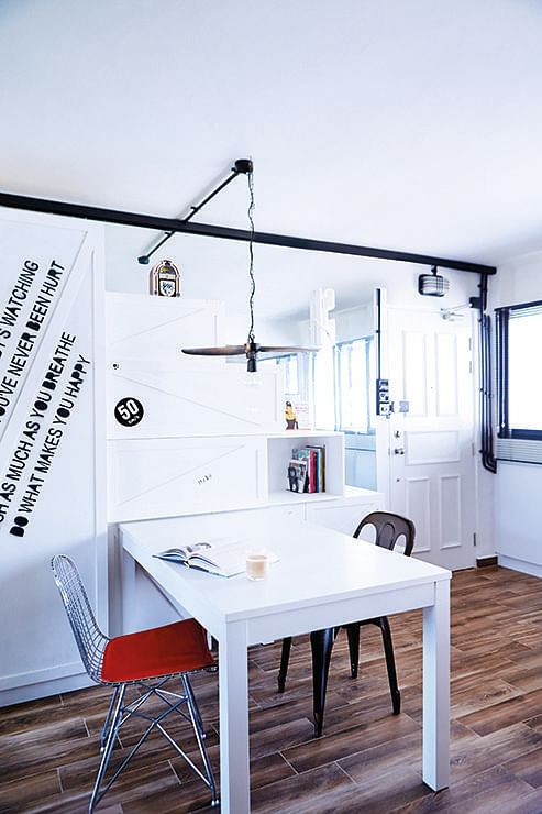 10 design ideas for small-space dining areas in HDB flat homes 8