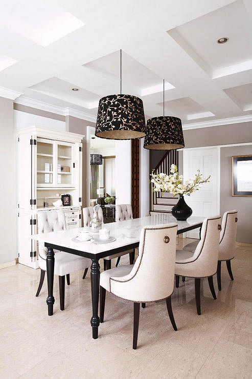 8 Stylish Modern Classic Dining Rooms To Inspire You 8