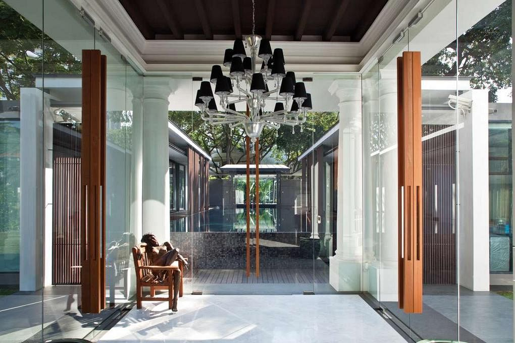 House Tours Some Of Singapore S Most Beautiful Good Class Bungalows