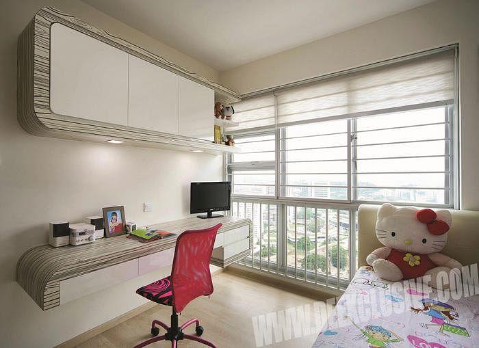 bedroom  u0026 study room design