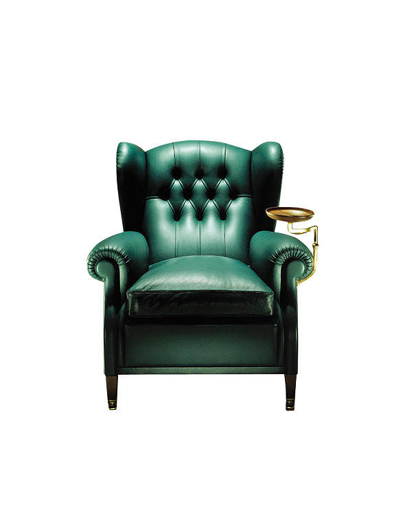 1919 armchair in green leather from Poltrona Frau | Home & Decor ...