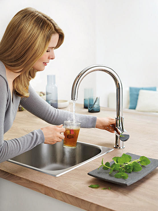 Grohe Red Kitchen Faucet