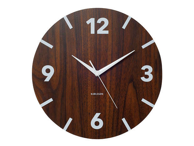 Wooden Wall Clock By Karlsson Home Amp Decor Singapore