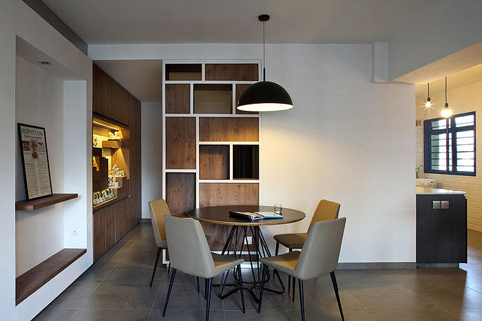 Dining Room Design Ideas Round Tables In Open Concept HDB