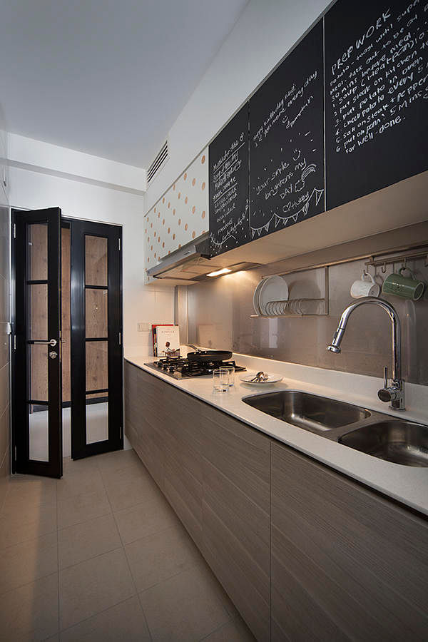 Kitchen Design Ideas 8 Stylish And Practical Hdb Flat Gallery Kitchens Home Decor Singapore