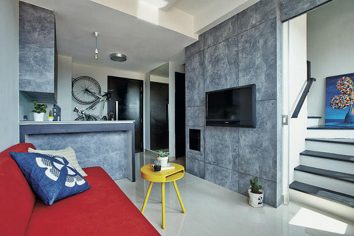 House Tour An Edgy And Minimalist Two Storey One Bedroom Condo Unit