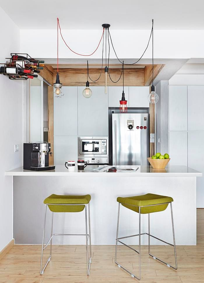 3 Room Hdb Interior Design Ideas: Kitchen Design Ideas: 6 Trendy Kitchens In 4-room HDB Flat