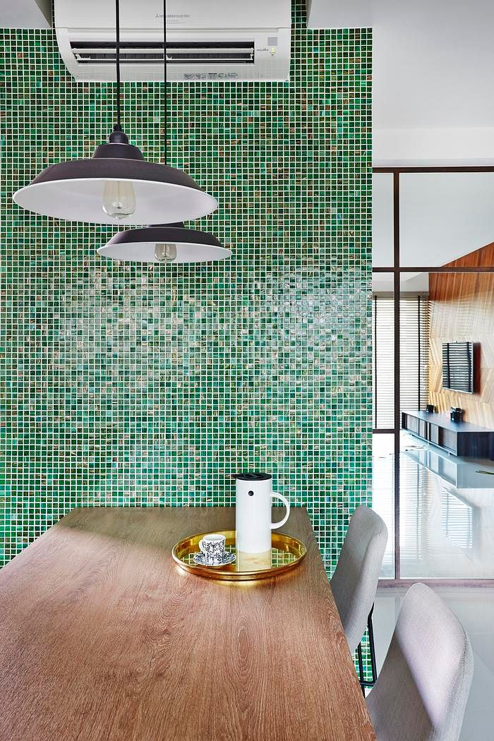 Remarkable 10 Trendy Interiors With Mosaic Wall Finishes Home Decor Singapore Largest Home Design Picture Inspirations Pitcheantrous