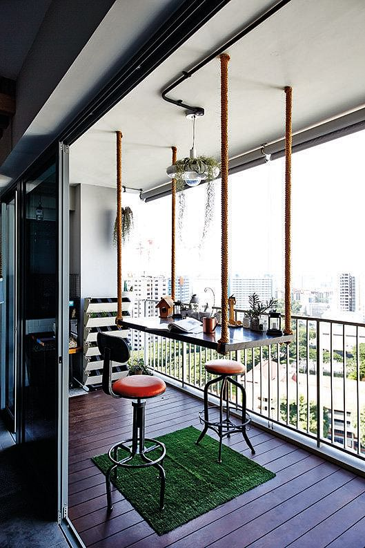 8 design ideas for your balcony or outdoor space home for Balcony ideas singapore