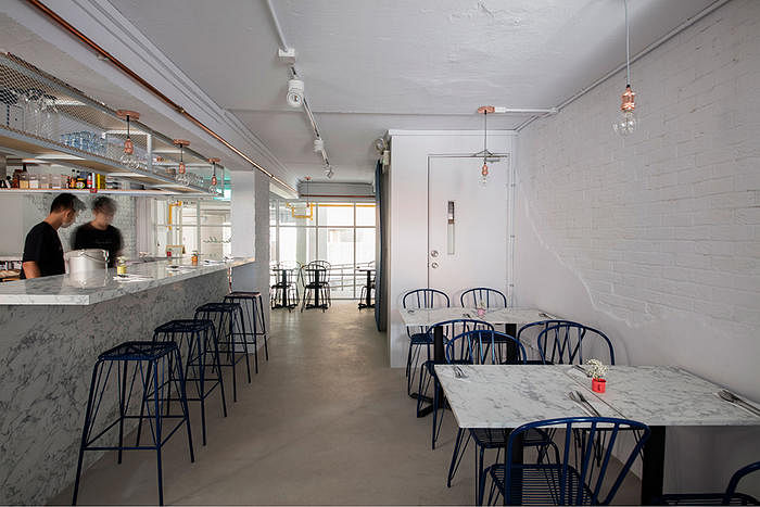 Marble Bistro Cafe Minimalist Industrial Home Decor Singapore