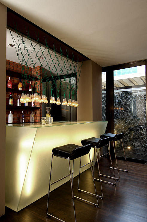 Looking for design ideas for your home bar get drunk on for Small bars for home designs