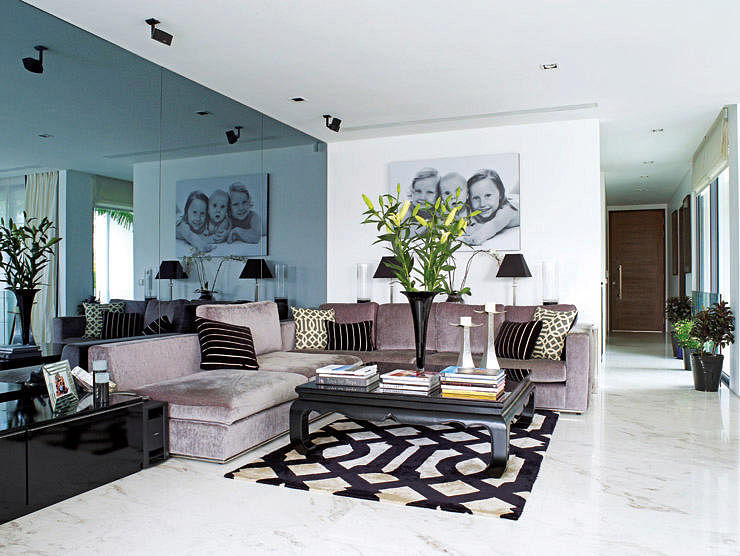 Living Room Designs Singapore living room design ideas: 3 ways to place an l-shaped sectional